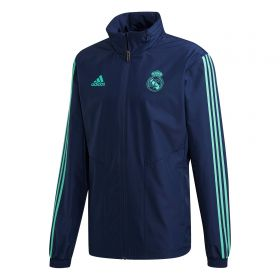 Real Madrid UCL All Weather Jacket - Navy