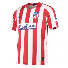 Atlético de Madrid Home Stadium Shirt 2019-20 with Šaponjic 17 printing