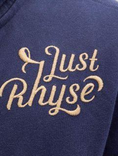 Just Rhyse / Zip Hoodie Big in blue