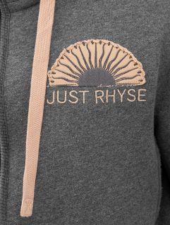 Just Rhyse / Zip Hoodie Sun in grey