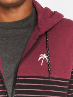 Just Rhyse / Zip Hoodie Chillico in red