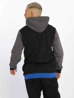 Мъжки суичър Just Rhyse / Zip Hoodie Oxid in black