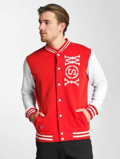 Who Shot Ya? / College Jacket Alpha in red