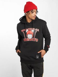 Who Shot Ya? / Hoodie Rabbits in black