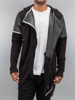 Bangastic / Zip Hoodie PU in black