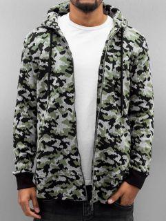 Мъжки суичър Bangastic / Zip Hoodie Cona in camouflage