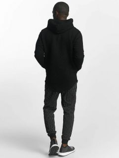 Bangastic / Zip Hoodie Striped in black