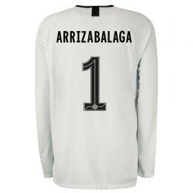 Chelsea Third Cup Stadium Goalkeeper Shirt 2019-20 - Long Sleeve with Arrizabalaga 1 printing