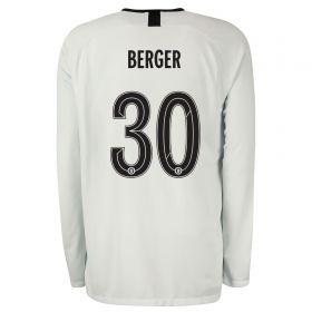 Chelsea Third Cup Stadium Goalkeeper Shirt 2019-20 - Long Sleeve with Berger 30 printing