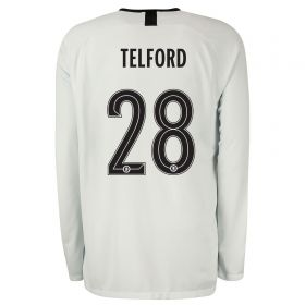 Chelsea Third Cup Stadium Goalkeeper Shirt 2019-20 - Long Sleeve with Telford 28 printing