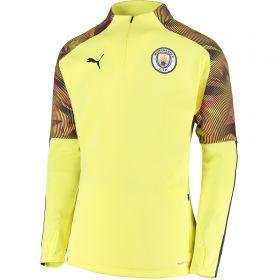 Manchester City UCL Training Fleece - Yellow