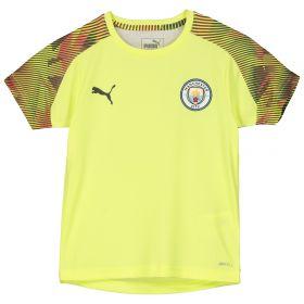Manchester City UCL Training Jersey - Yellow - Kids