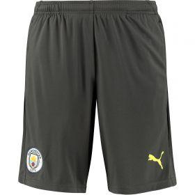 Manchester City UCL Training Shorts - Dark Grey