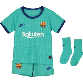 Barcelona Third Stadium Kit 2019-20 - Infants