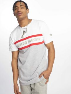 Rocawear / T-Shirt redstripe in grey