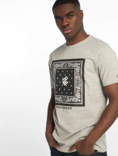 Rocawear / T-Shirt Bandana in grey