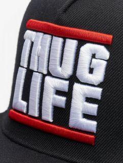 Thug Life / Snapback Cap Creutz in black