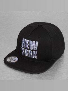 Just Rhyse / Snapback Cap New York Style in black