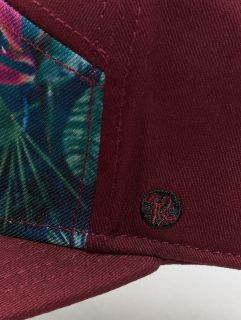Just Rhyse / 5 Panel Caps Delray Beach in red