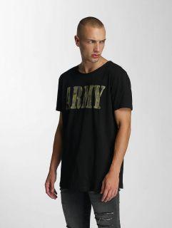 Мъжка тениска Bangastic / T-Shirt Team Army in black