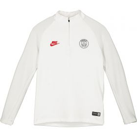 Paris Saint-Germain Strike Drill Top - White - Kids