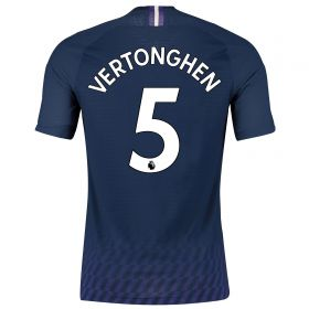 Tottenham Hotspur Away Stadium Shirt 2019-20 with Vertonghen 5 printing