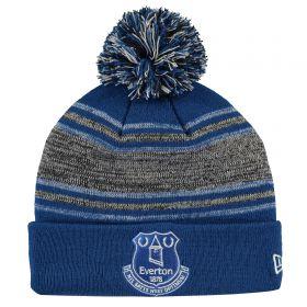 Everton New Era Bobble Knit - Blue - Adult