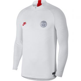 Paris Saint-Germain Vaporknit Strike Drill Top - White