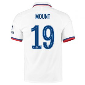 Chelsea Away Cup Vapor Match Shirt 2019-20 with Mount 19 printing