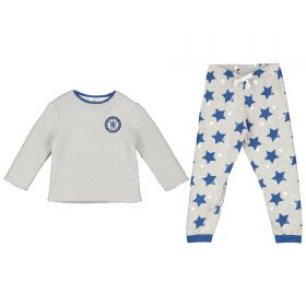 Chelsea Borg Fleece Top and Pant Set - Grey - Girls
