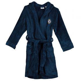 Chelsea Hooded Robe - Navy - Boys