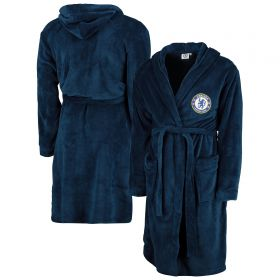 Chelsea Hooded Robe - Navy - Mens