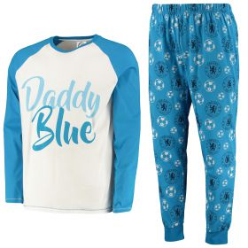 Chelsea LS Daddy Blue Pyjama Set - Blue - Mens