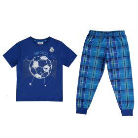 Chelsea Team Chelsea Pyjama Set - Blue - Boys
