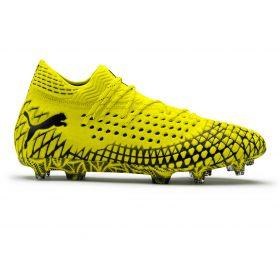 Puma Future 4.1 Netfit Firmground Football Boots - Yellow