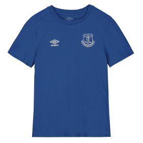 Everton Travel T-Shirt - Blue - Kids