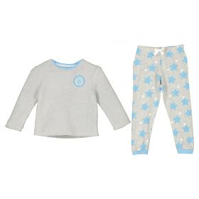 Manchester City Snuggle Top and Lounge Pant - Grey - Girls