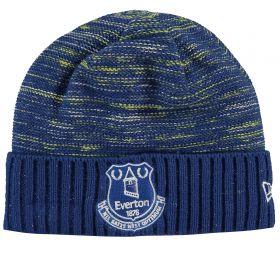 Everton New Era Wide Cuff Knit - Blue - Adult