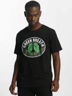 Dangerous DNGRS / T-Shirt Green Breath in black