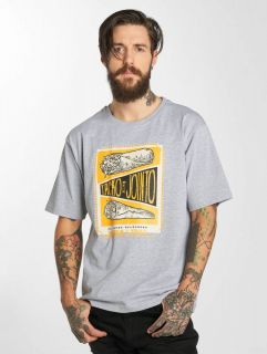 Мъжка тениска Dangerous DNGRS / T-Shirt Delicioso in grey