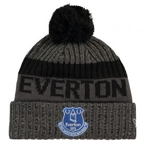 Everton New Era Toffees Bobble Knit Hat - Grey - Adult