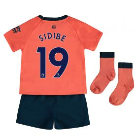 Everton Away Baby Kit 2019-20 with Sidibe 19 printing