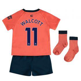 Everton Away Baby Kit 2019-20 with Walcott 11 printing