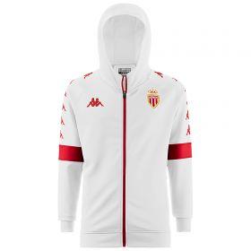 Monaco Hooded Sweatshirt - White - Mens