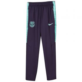 Barcelona Squad Training Pants - Purple - Kids