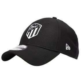 Atlético de Madrid New Era Diamond Era 9FORTY Adjustable Cap - Black