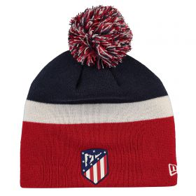 Atlético de Madrid New Era Skull Bobble Hat - Scarlet