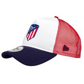 Atlético de Madrid New Era Trucker Cap - White