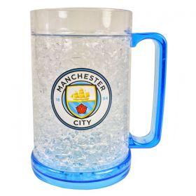 Охлаждаща Чаша MANCHESTER CITY Plastic Freezer Tankard