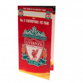 Картичка LIVERPOOL Birthday Card No 1 Fan